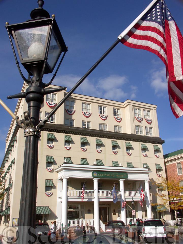Gettysburg Hotel, Gettysburg, PA.