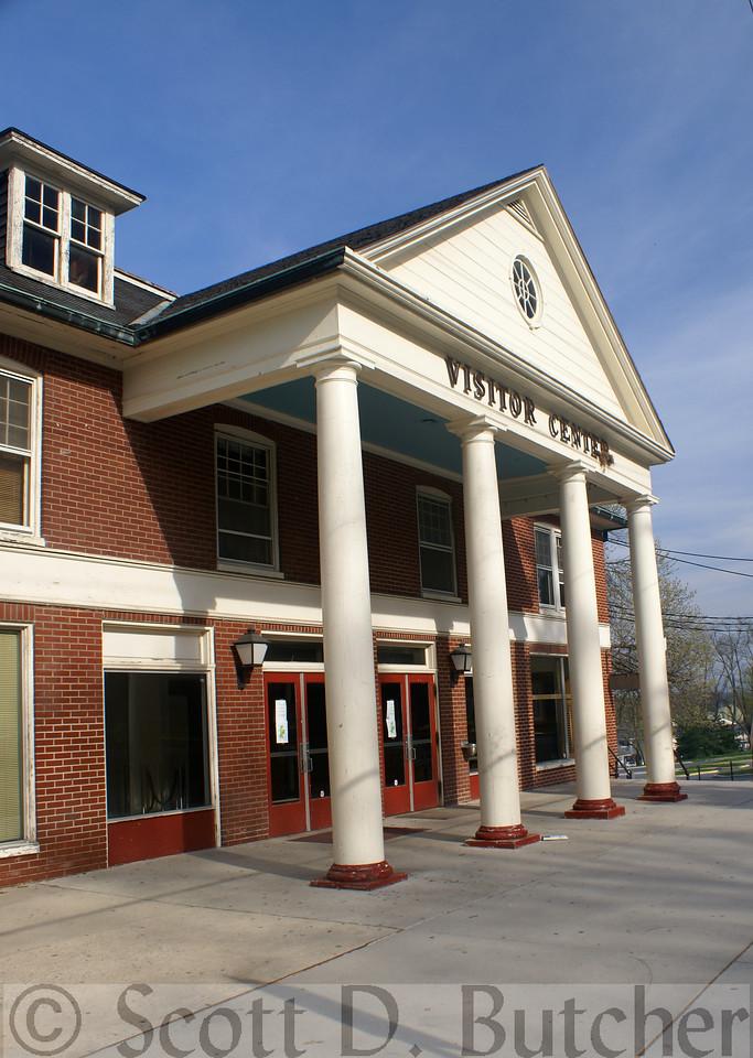 Former Gettysburg Visitors Center, slated for demolition