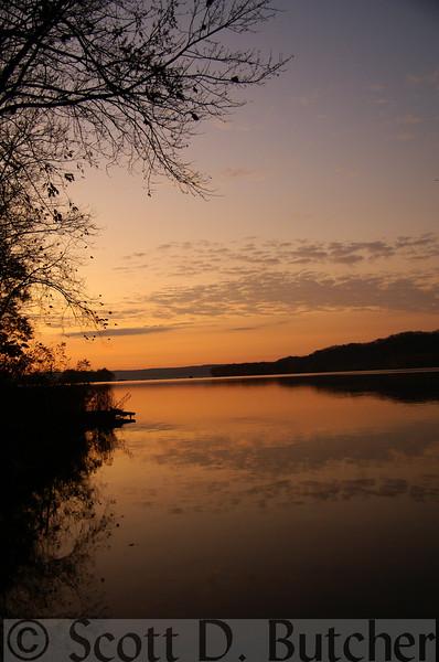 Dawn on the Susquehanna River