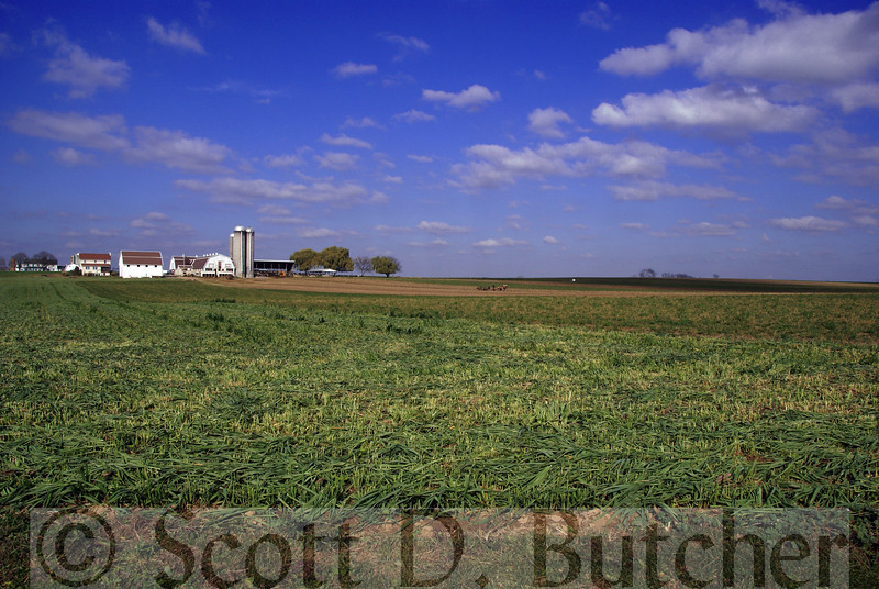 Amish Farm, Lancaster County, PA