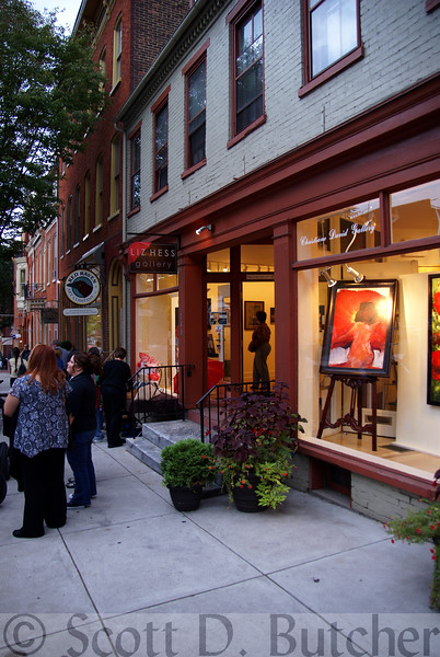 First Friday, Gallery Row