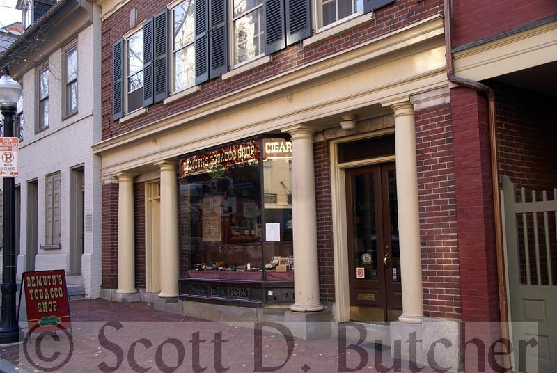 Demuth Tobacco Shop, Lancaster, PA