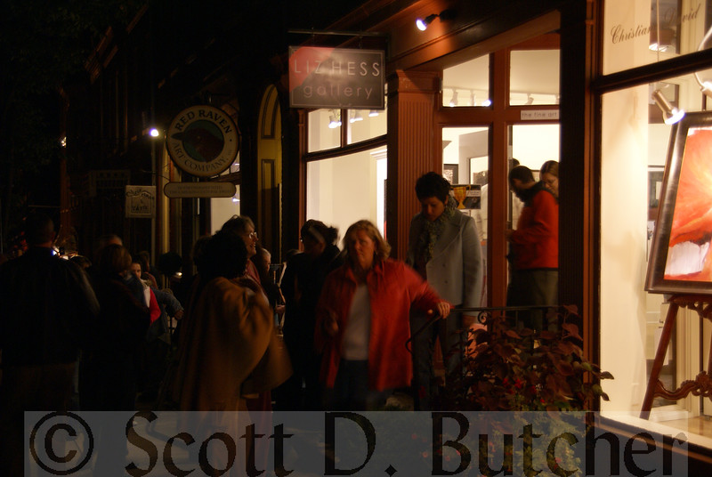 First Friday on Gallery Row