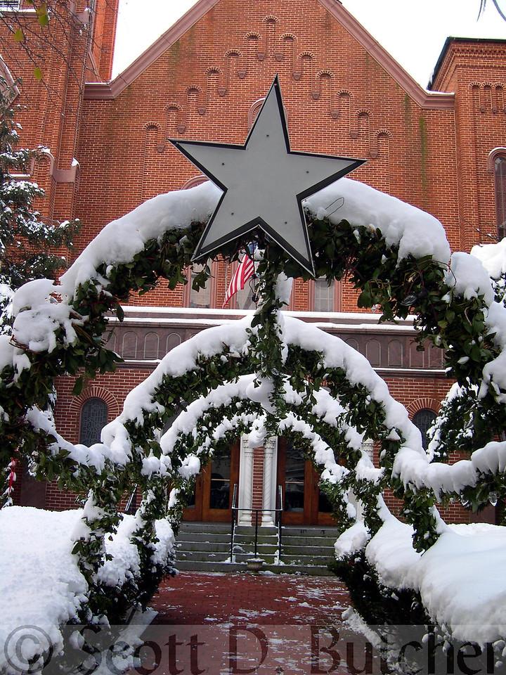 Trinity UCC at Christmas