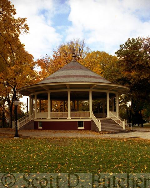 Farquhar Park Bandstand.