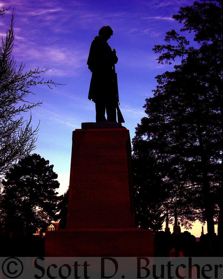 Soldier's Circle Civil War Monument