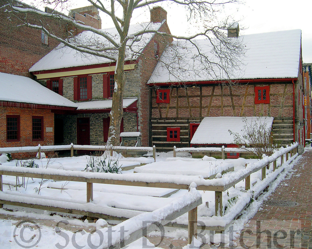 Winter at the Gates & Plough.