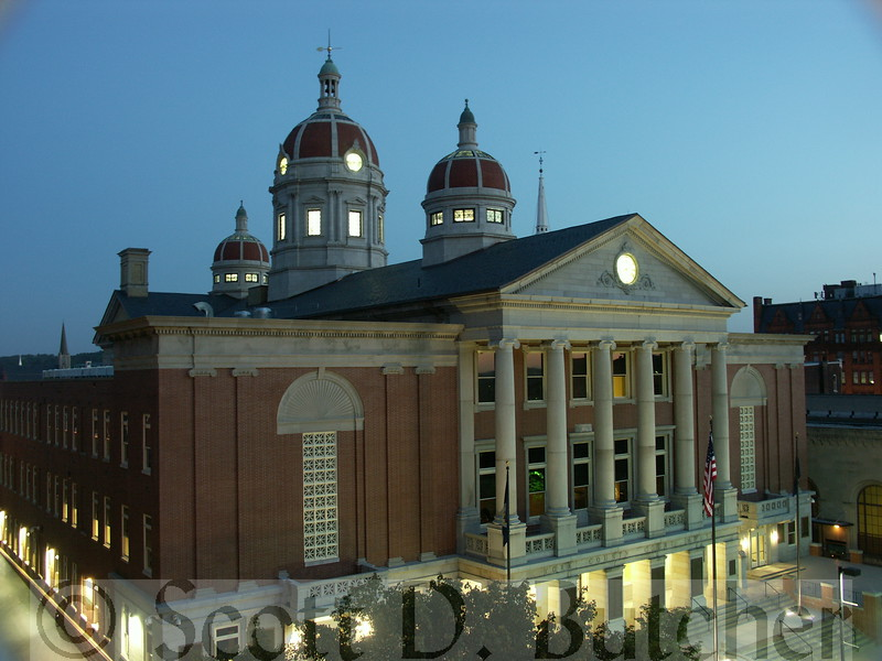 York County Court House at Night