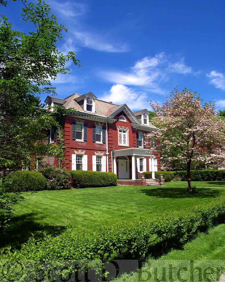 Colonial Revival Home in Springdale