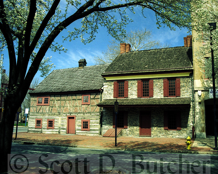 Golden Plough Tavern & Horatio Gates House.
