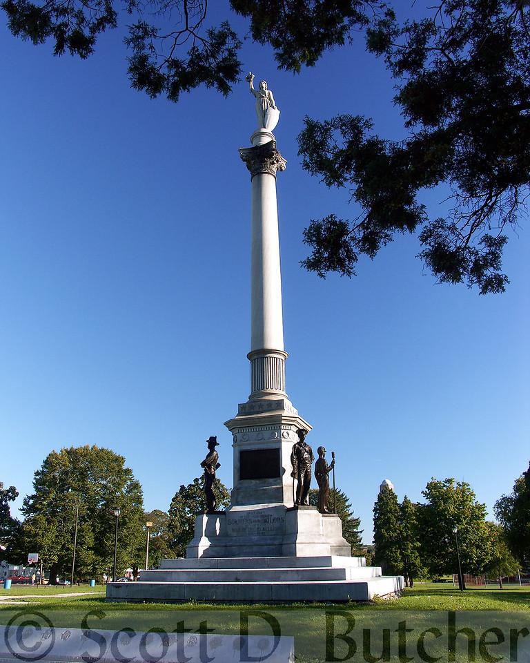 Soldier's & Sailors Monument, Penn Park