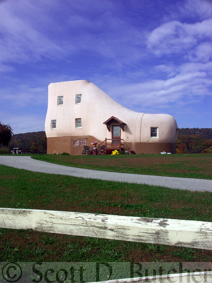 Haines Shoe House, York County, PA.