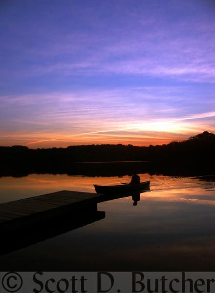 Lake Redman Sunset