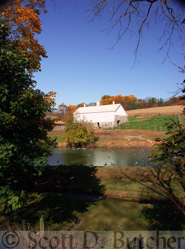 Southern York County near Glen Rock