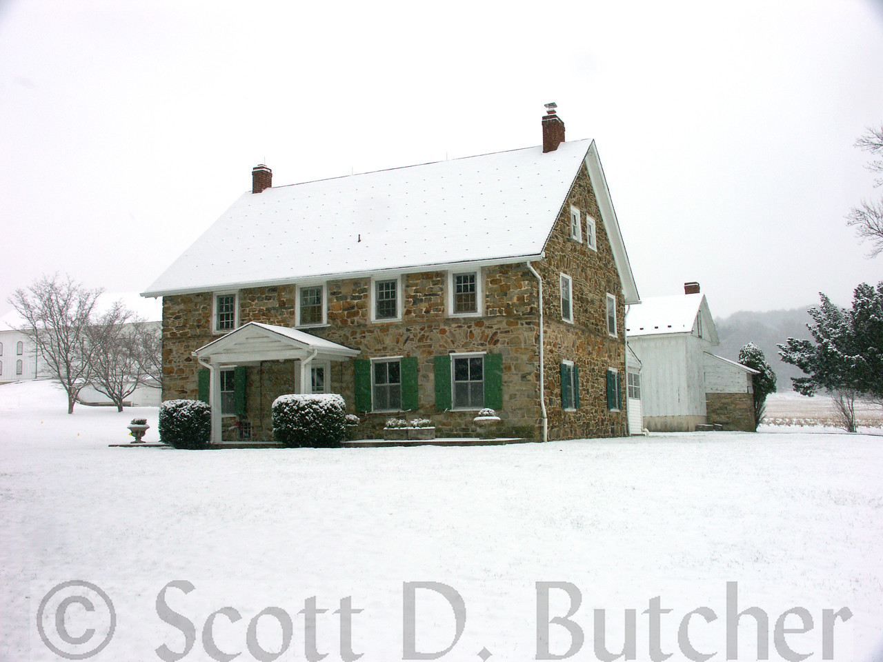 Snowfall, Schultz House