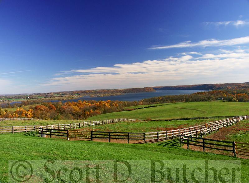 Susquehanna River from Lauxmount Farms