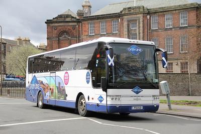 Edinburgh Coach Lines PSU621 Vanburgh Place Edin May 13