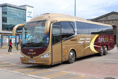 Edinburgh Coach Lines YR17RHF IBS 1 Jun 17