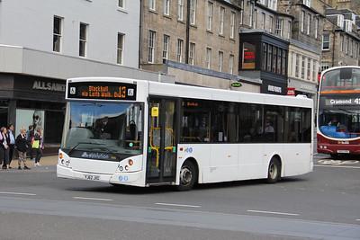 Edinburgh Coach Lines YJ62JXG Princes Street Edinburgh Jul 17