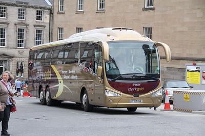 Edinburgh Coach Lines YR17RHE Elder Street Edinburgh Jul 17