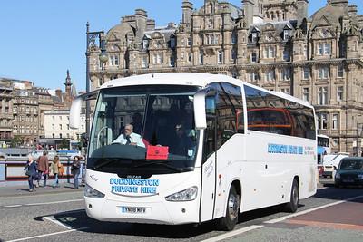 Duddingston Private Hire Edinburgh YN08MPV North Bridge Edinburgh Aug 16