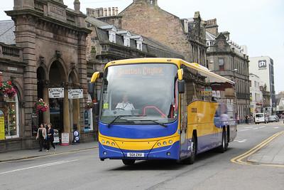 Edinburgh Coach Lines SG11ZXU Academy Street Invss Aug 16