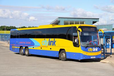 Edinburgh Coach Lines OIG1543 Halbeath Park and Ride 1 Jul 17