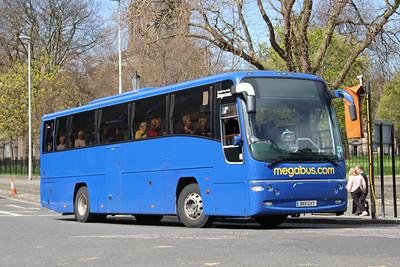 Edinburgh Coach Lines BX11GVY Charlotte Square Edin May 13