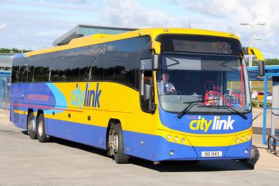 Edinburgh Coach Lines OIG1543 Halbeath Park and Ride 2 Jul 17
