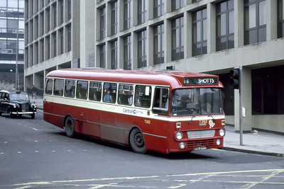 Central T362 North Hanover Street Glasgow Jan 87