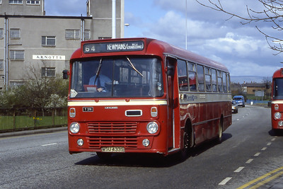 Central T291 West Hamilton Street Motherwell Apr 85