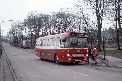 Central T440 Strawfrank Road Carstairs Junction Mar 84