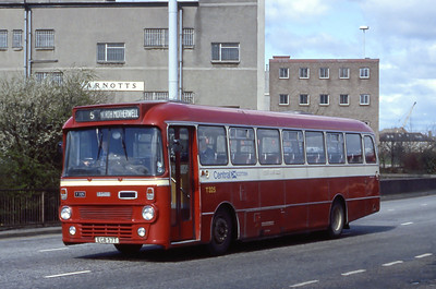 Central T325 West Hamilton Street Motherwell Apr 85