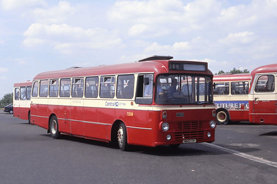 Central T239 Airdrie Bus Station Jun 89