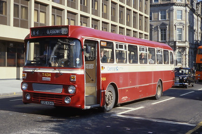 Central T434 George Square Glasgow Sep 84