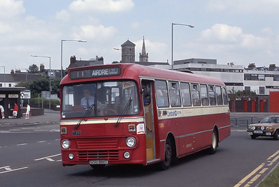 Central T379 Airdrie Bus Station Jun 89