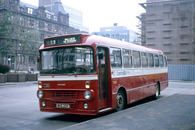 Central T242 Anderston Bus Station Glasgow Sep 84