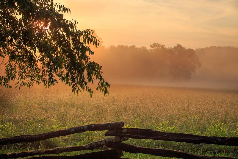 Smoky Mtn. Sunset #1  - Smoky Mountain National Park, TN