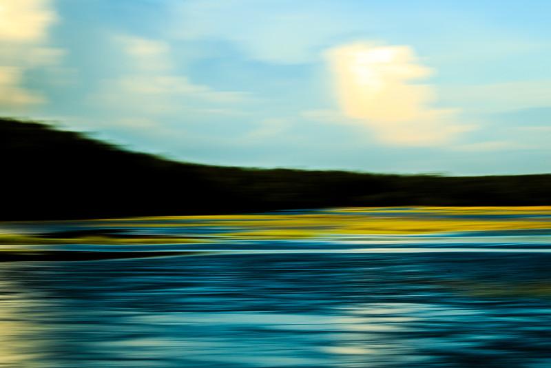 Salt Marsh Abstract #1 - Edisto Island, SC