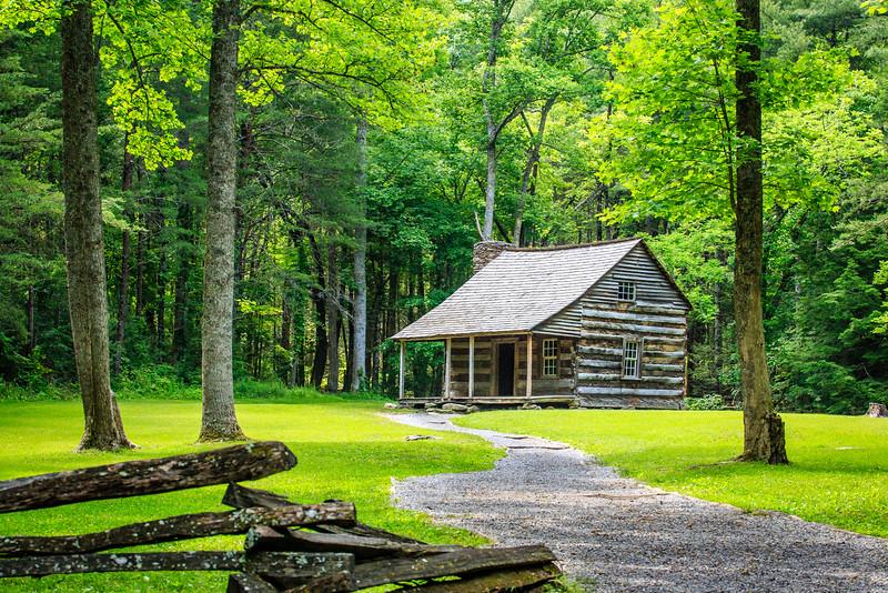 Carter Shields Cabin  - Smoky Mountain National Park, TN