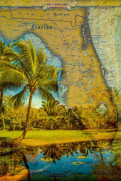 Florida Map Vertical – Naples Botanical Garden