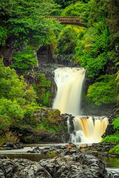 Lower Falls at Kipahula - Maui