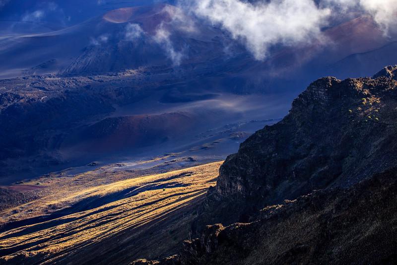 Haleakala Crater #2 at 9,325 ft. -  Central Maui
