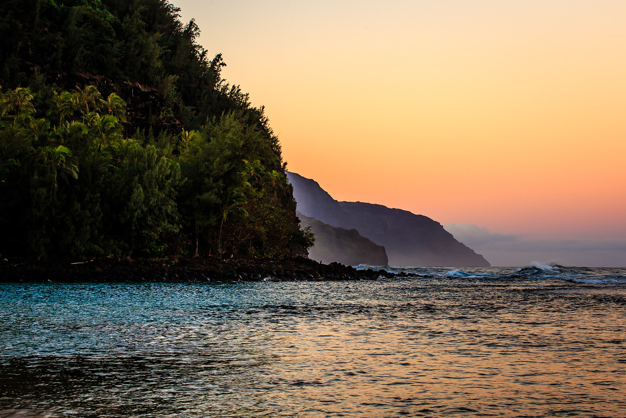 Na Pali Coast Sunrise - Kauai