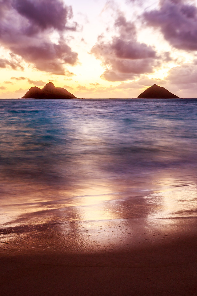 Mokes at Lanikai Beach - Oahu