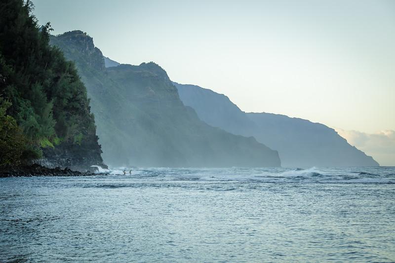 Na Pali Coast Daytime- Kauai