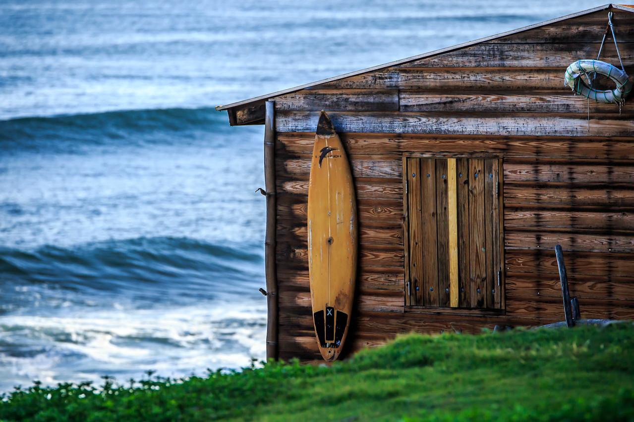 Surfer Shack #1 - La Perla, Puerto Rico