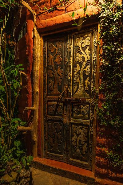 Mayan Door – San Marcos La Laguna, Guatemala
