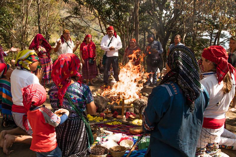 8 Batz Mayan Ceremony #6- San Marcos La Laguna, Guatemala