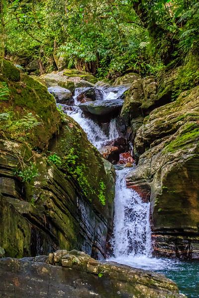 La Mina Falls Trail - El Yunque National Forest, Puerto Rico